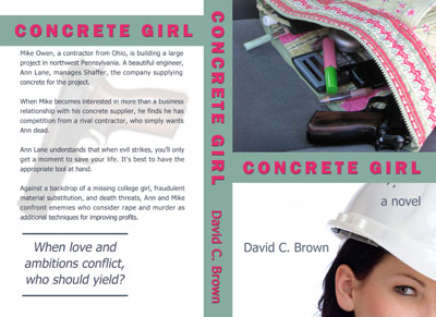 Concrete Girl by David C. Brown